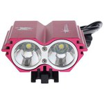 Фара велосипедная SolarStorm X2 RED 2x XML-U2 1600Lum (КОМПЛЕКТ)