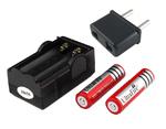 Зарядное устройство простое UltraFire 2х18650  ток 1А, 4,2В штекер