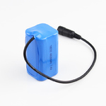 Аккумуляторная сборка Roadleader 2600мАч 8,4В с платой защиты в сумочке