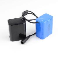 Аккумуляторная сборка Roadleader 7800мАч 8,4В с платой защиты в силиконовом чехле в сумочке