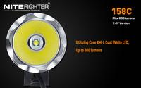 NiteFighter BT 158С USB 1 диод XM-L U2   до 800Lm (ФАРА + КОЛЕЧКИ)